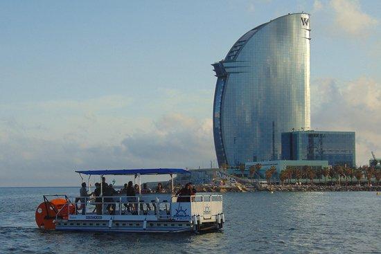 Boat rental - Pedal Cruises Barcelona
