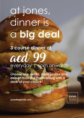 3 Course DinnerDeal