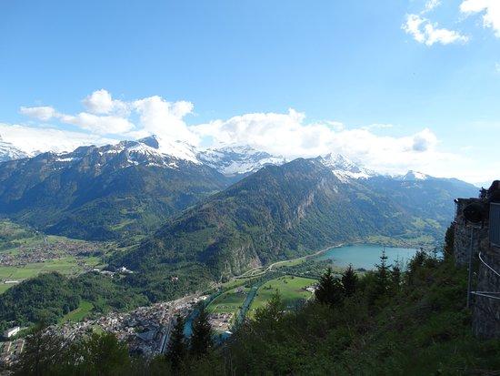 Harder Kulm - Top of Interlaken - Ticket: Lago de Thun, à direita da atração