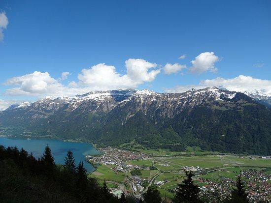 Harder Kulm - Top of Interlaken - Ticket: Lago de Brienz, ao lado esquerdo da atração