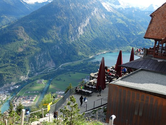 Harder Kulm - Top of Interlaken - Ticket: Apenas um entre tantos detalhes e pontos de vista para fotografar
