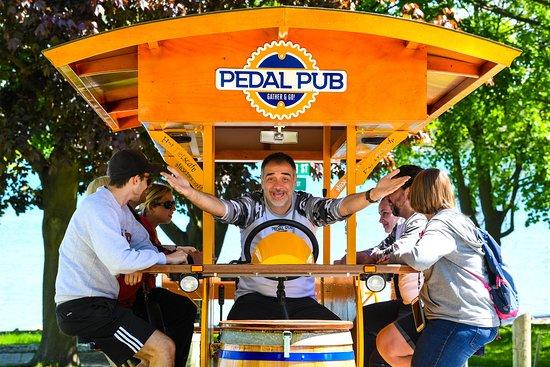 Pedal Pub Niagara on the Lake