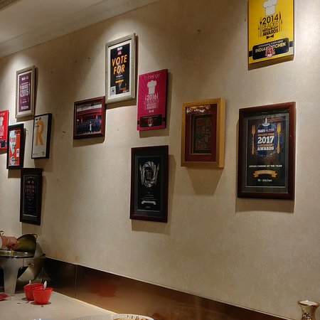 The Wall For Recognition Picture Of Indian Kitchen Beijing Tripadvisor