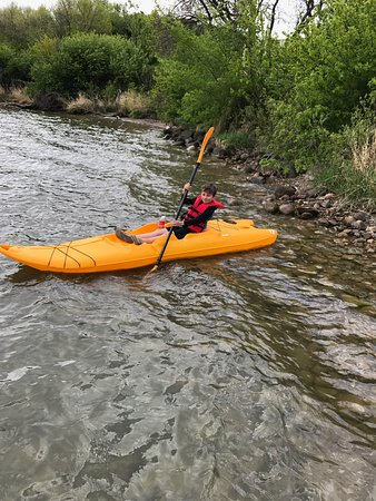 Squirrely Putt & Play: Kayaks for kids and adults