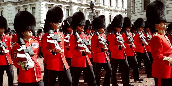 The Queen's Royal Guard Rehearsal