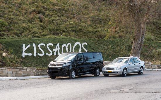Kissamos, Greece: Transfer cars