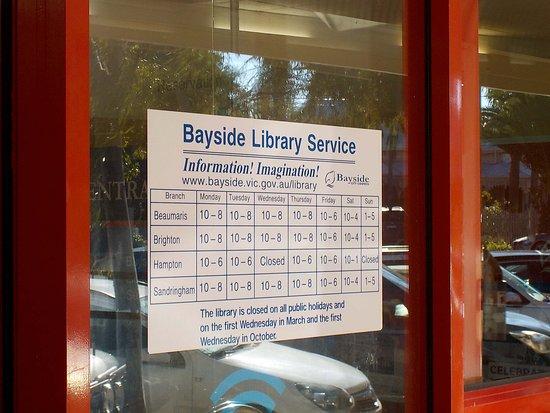Bayside Library - Sandringham