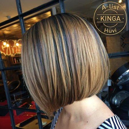 A-list Salon & Spa: Vendégünk korábban brazil hajfeltöltő kezelést kapott, amit szakemberünk egy fantasztikus balayage-al koronázott meg Időpontfoglalás: https://www.a-list.hu/hu/foglalas