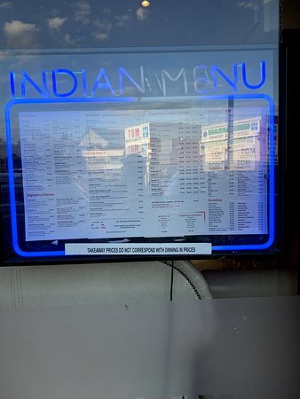 Menu visible from the street. All restaurants should have the guts to do that