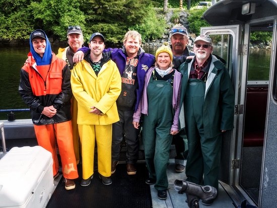 Angling Unlimited: The crew