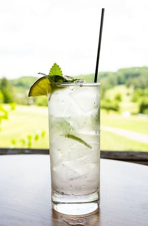 Tee Off - Light rum and coconut water