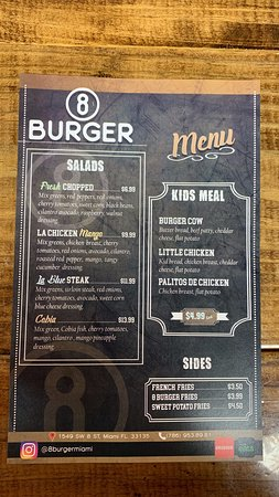 We have everything you can enjoy at a burger place!