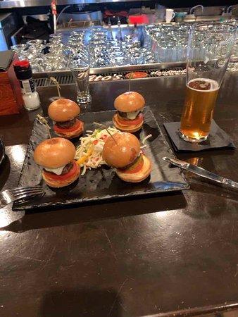 Prime 109 Steak & Libation House - Santa Clara: Mini burgers, it was good.
