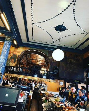 Classic Basque pinxtos bar