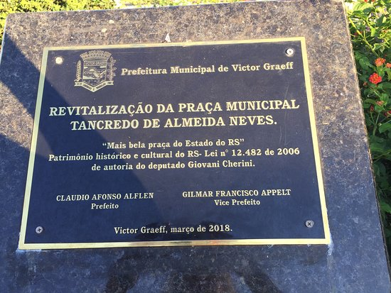 Victor Graeff, RS: Praça Municipal Tancredo Neves