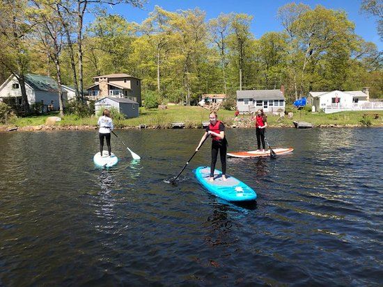 Family Fun at Lake Williams in Lebanon CT