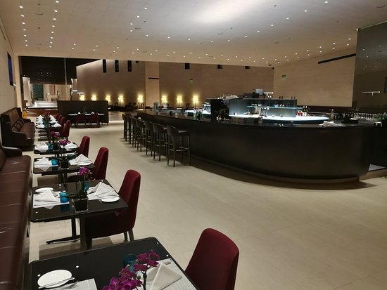 Qatar Airways: First class lounge Hamad Airport Doha