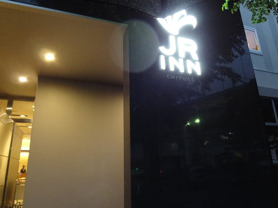 JR Inn Chitose: 外観です。