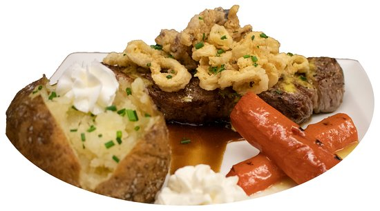 The Moonshadow Grille: NY Steak Surf & Turf