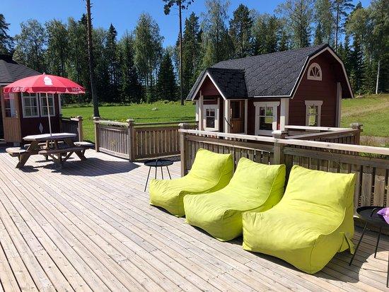 Konnevesi, ฟินแลนด์: Leppoisa lounastauko kauniissa maisemissa