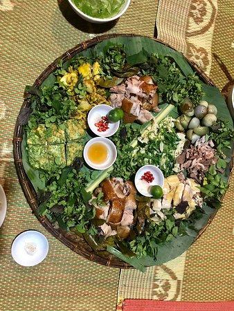 Tuyen Quang Province, Wietnam: Ẩm thực Homstay Lâm Bình