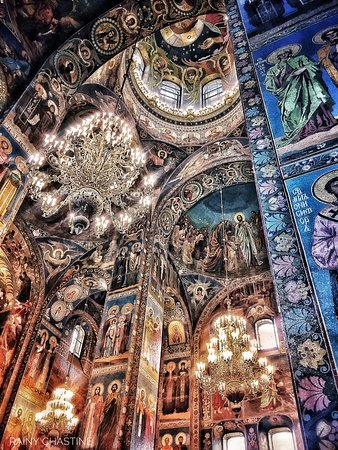 San Petersburgo, Rusia: Church of the Spilled Blood