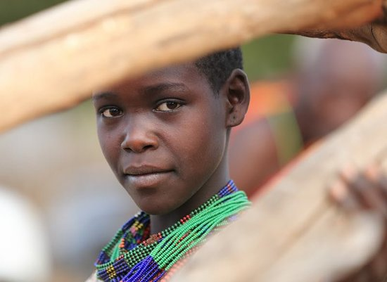 Turmi, Ethiopia: Portrait of young hamer tribes boy omo valley Ethiopia , our company takes Tour to any corner in Ethiopia contact us for more!