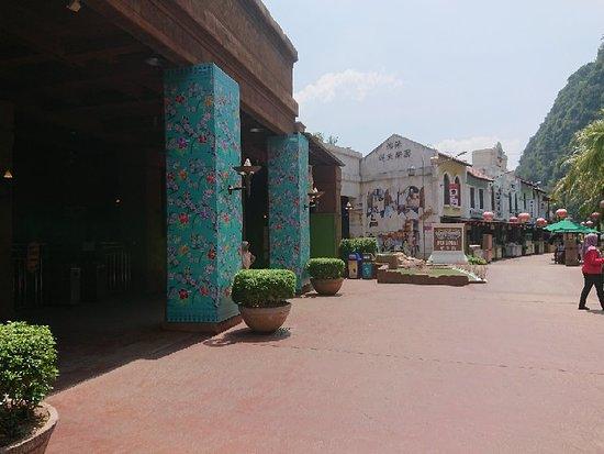 The various sights at the Lost World of Tambun theme park