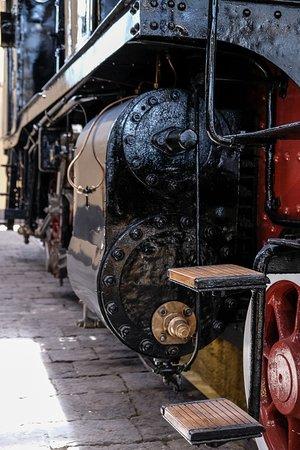 Museo Nazionale Ferroviario di Pietrarsa: Scaletta manutenzione