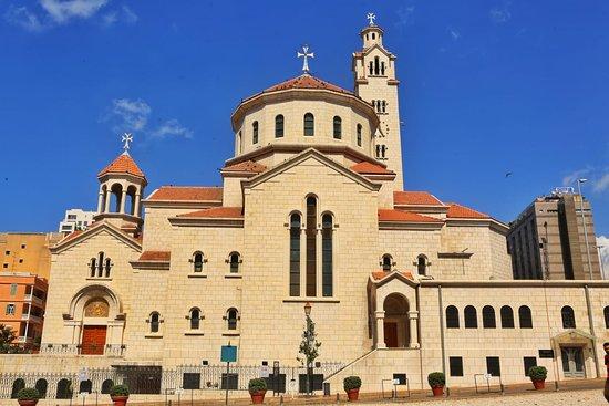 ביירות, לבנון: كاتدرائية القديسين غريغوريوس المنور والياس النبي للارمن الكاثوليك