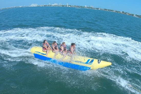 ‪‪Banana Boat Ride in Biscayne Bay‬: Banana Boat Ride in Biscayne Bay‬