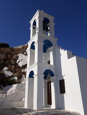 Panagia Gremiotissa Church: bell tower