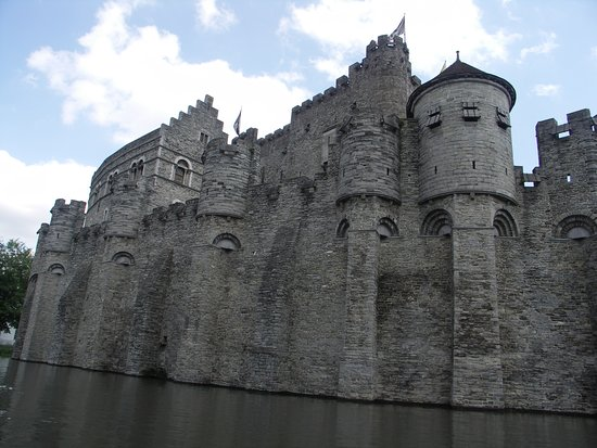 Gravensteen: Outside view of the castle