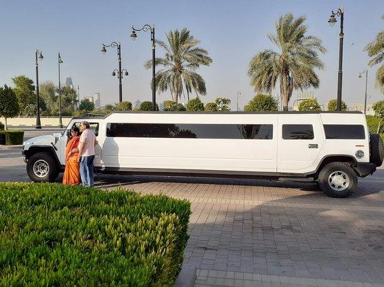 Limo Service Dubai , happy Guests , Best Limo In Dubai ,