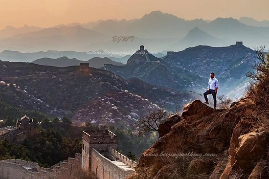 Private Beijing Transfer: Simatai Great Wall and Gubei Water Town by Night