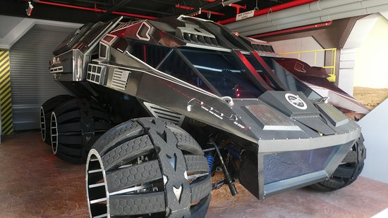 Centro espacial Kennedy en Cabo Cañaveral: Proposed Mars Buggy - I want one!