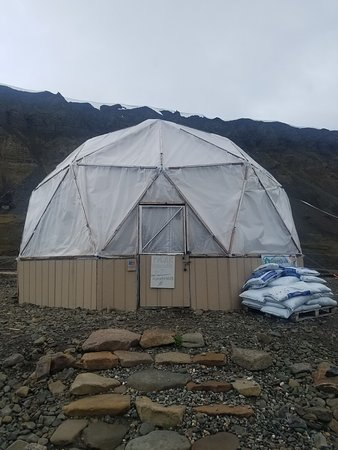 An Arctic cooking course and sightseeing of Longyearbyen - Polar Permaculture: The greenhouse