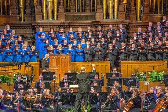 Best of Salt Lake City Including Great Salt Lake Sightseeing Tour: Tabernacle Choir Performance + Guided Tour of Salt Lake City