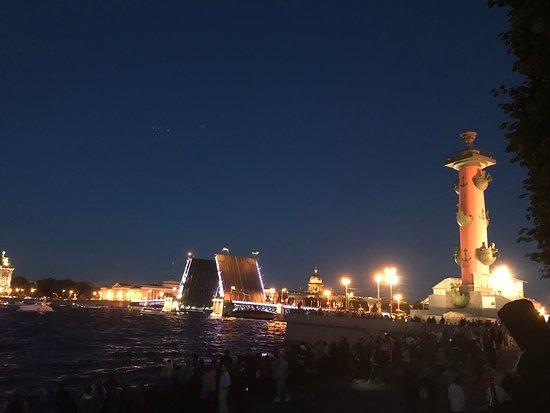 San Petersburgo, Rusia: Вид со стрелки Васильевского острова