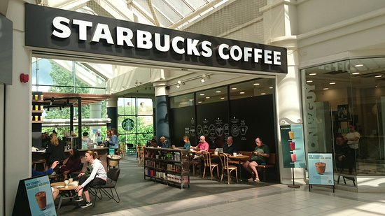 美式連鎖咖啡店外觀 Picture Of Starbucks Welwyn Garden City