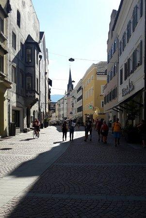La Via centrale (Stadtgasse)