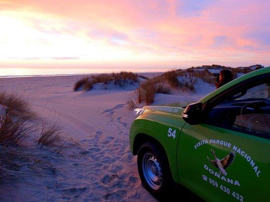El Rocio, Spanien: Atardecer en las dunas