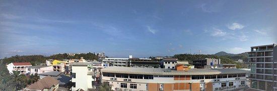 Grand Kata VIP: Панорамный вид с балкона