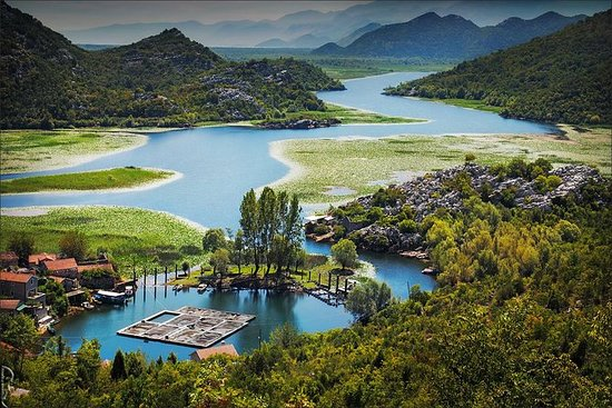 Virpazar  -  Skadar湖 -  Rijeka...
