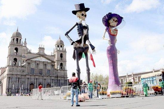 Day of the Dead in Feria del Alfenique...