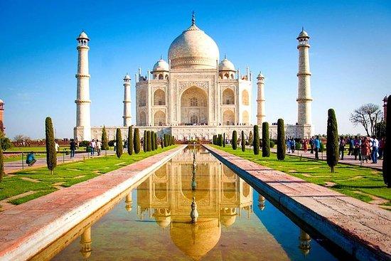 Från Delhi: Taj Mahal och Agra Fort av ...