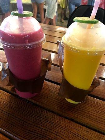 Grand Kata VIP: Смузи из манго и из манго с питахайей