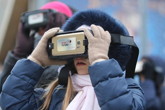 """Moscow """"Past and Future"""" Virtual Reality Tour """": Virtual Reality Tour """"Moscow Past and Future"""""""