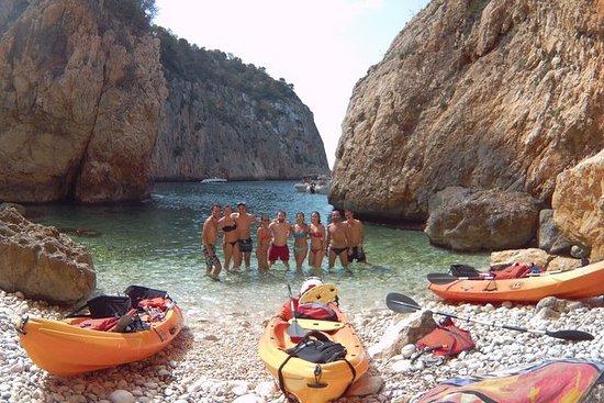 Tour CalaGranadella - Cueva dels Orguens Jávea with Mediterranean tasting menu: Guided tour Cala Granadella - Cueva dels Orguens Jávea