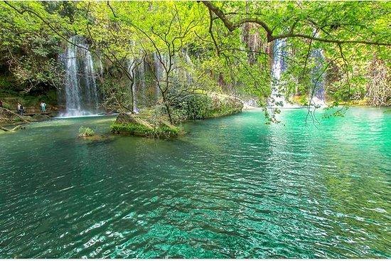 ANTALYA瀑布游(在安塔利亚的3DİFFERENT瀑布)
